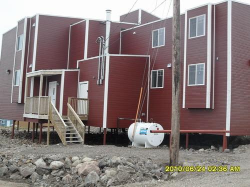 北极现代民居建筑,所住宾馆,2010年6月22-28日,Iqaluit