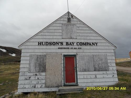 哈得森湾公司定居点,建于1867年5月,摄于2010年6月27日,Iqaluit